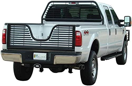 Go Industries 5Th Wheel V-Style Louvered Tailgate Black 6142