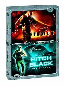 Pack: Las crónicas de Riddick + Pitch black [DVD]