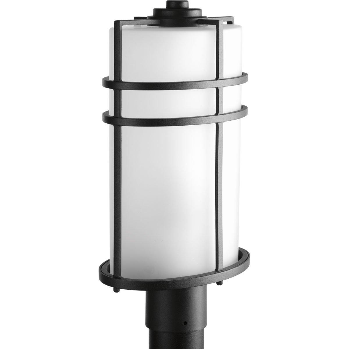 Progress Lighting P6428-31 1 LT Post Lantern with Etched Glass, 9.5'' by Progress Lighting