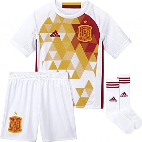 adidas 2016-2017 Spain Away Mini Kit ()