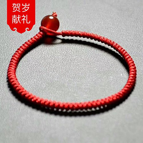 2018 New transit natal red string bracelet jewelry