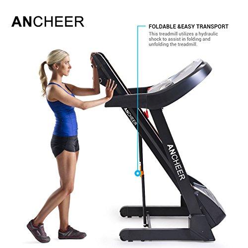 ANCHEER App Control Treadmill S8100