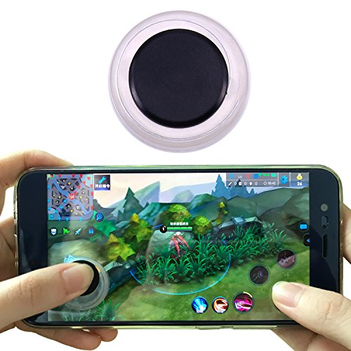 Mini Mobile Joystick Android Joystick for iPhone IPad STICK/&PLAY mini Joystick Android phone and Smartphone Touch screen tablet Black Non-Sticky Increase Game score 30/% Guaranteed