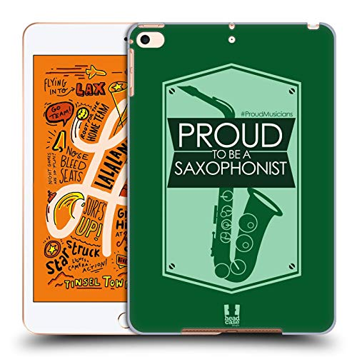 Head Case Designs Saxophonists Proud Musicians Hard Back Case Compatible for iPad Mini (2019)