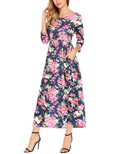 maxi dress and hat for wedding - 6
