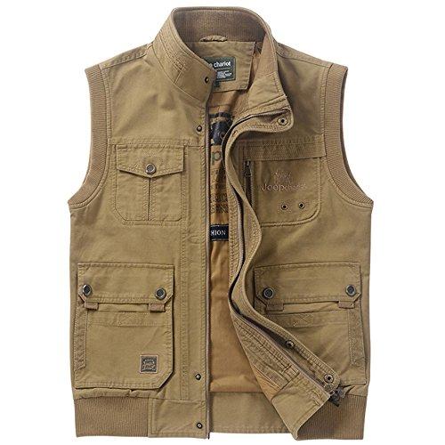 Veste Hommes Directeur Mens De Reporter Multi Pour Casual Armygreen Coton En Photographie Air Multifonction Gilet Pêche Pocket Plein aR1pxqwnpH