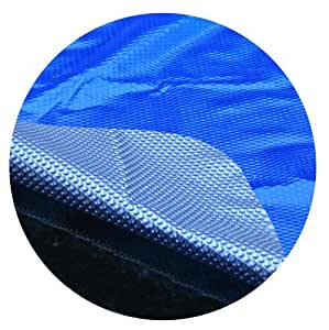 Midwest lienzo sc-bs-000004espacio edad 21-feet redonda por encima del suelo cubierta Solar, azul/plata