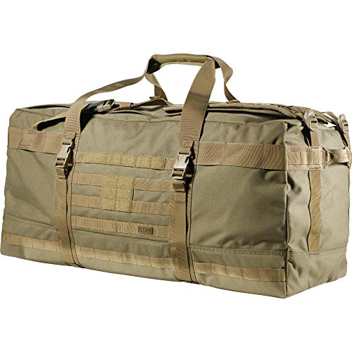 5.11 Tactical Rush Lbd Xray 5.11 Rush Lbd Xray Molle Tactical Duffel Bag Backpack, Style 56295, Sandstone, One Size