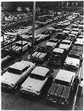 Photo: 1955,Buicks,Oldmobiles,Pontiacs,assembly line,KS,GM