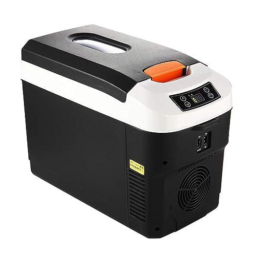 Refrigerador del coche Caja eléctrica fría Congelador 12V 24V 220V ...