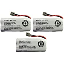 NekidCow BT-1021 BBTG0798001 2.4V DC 300-mAh Rechargeable Battery for Cordless Phone - 3 pack
