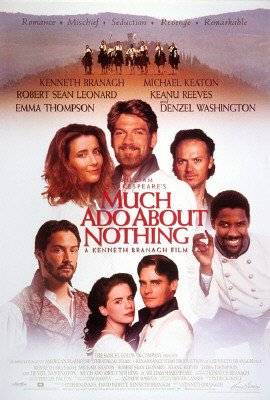 (Much Ado About Nothing - Movie Poster (Size: 27'' x 40'') )