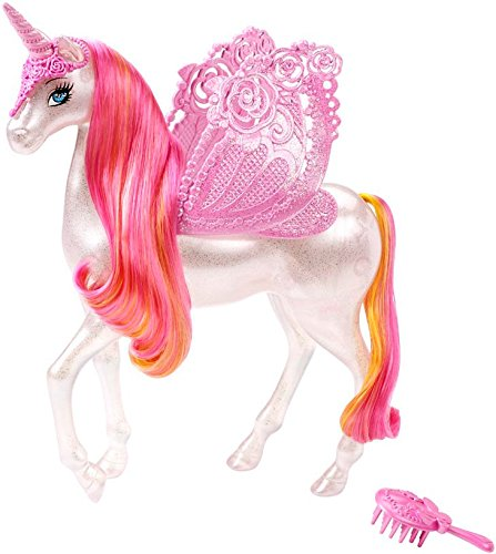 Barbie Fairytale Pink Pegasus (Discontinued by manufacturer) (Black Fairy Tale Characters)