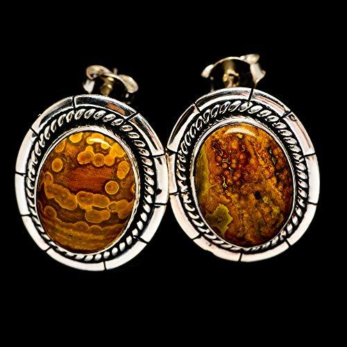 Ana Silver Co Ocean Jasper Earrings 1