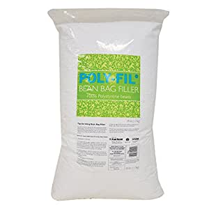 Amazon Com Fairfield Poly Fil Bean Bag Filler 21 2 Pound