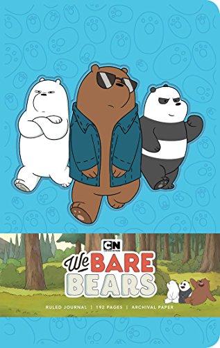 We Bare Bears Hardcover Ruled Journal