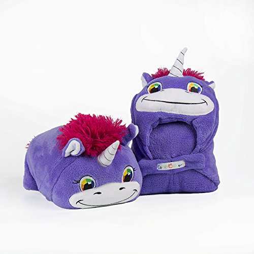 Comfy Critters Stuffed Animal Blanket Unicorn Kids