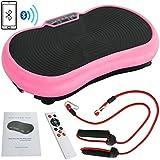 SuperDealUsa Super Deal Crazy Fit Full Body Vibration Platform Massage Machine Fitness W/Bluetooth