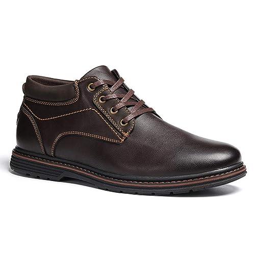 Hombres Botas de Seguridad Primavera Macho Botines de Moda Zapatos de Trabajo Hombres Zapatos Casuales: Amazon.es: Zapatos y complementos