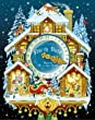 Christmas Cuckoo Clock Advent Calendar with Spinner from Vermont Christmas Company