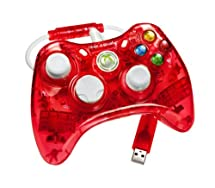 Amazon.com: Rock Candy Xbox 360 Controller - Red: Xbox 360