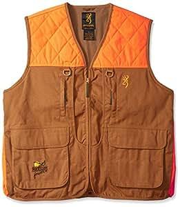 Browning Pheasants Forever Vest, Khaki/Blaze, Medium-Regular