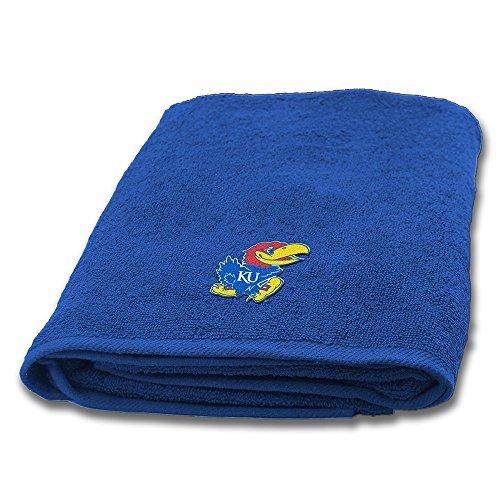 Northwest COL 929 Kansas Jayhawks NCAA Applique Bath Towel