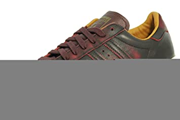Adidas SUPERSTAR 80S Negro Zapatillas Sneakers Cuero Negro 80S Verde para 1b0d34