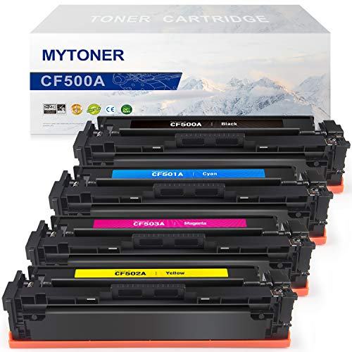 27e09039c40ac MYTONER Compatible Replacement HP 202A Toner Cartridges Use in HP ...