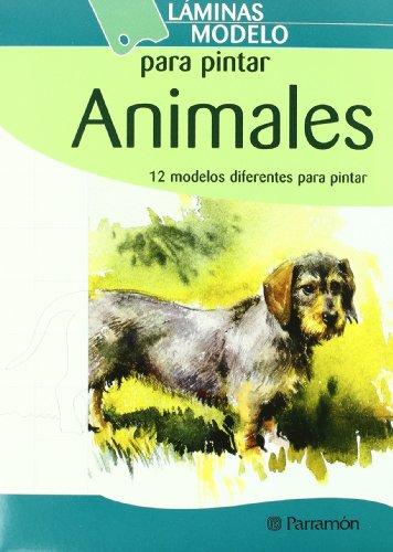 Descargar Libro Laminas Modelo Para Pintar Animales Equipo Parramon