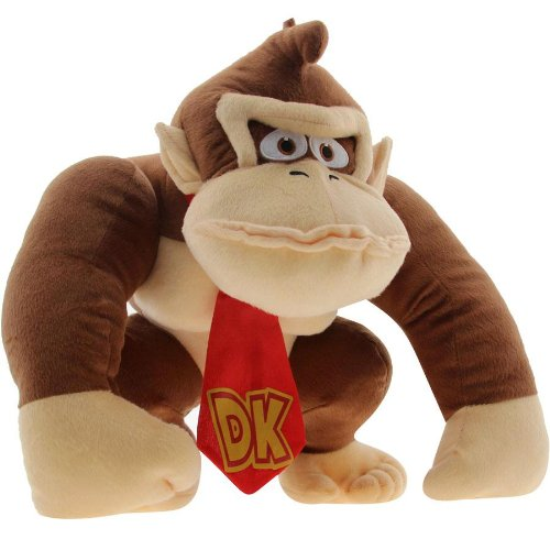 Amazon.com: Accessory Innovations Super Mario Donkey Kong Plush Backpack Bag: Video Games