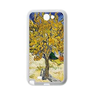 Mulberry Tree by Vincent Van Gogh Samsung Galaxy Note2 N7100 Series Plastic and TPU cases