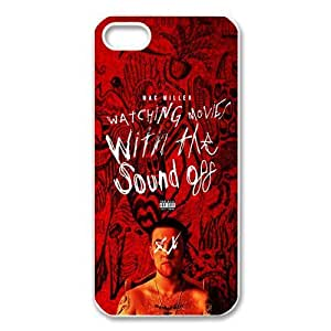 Rapper Mac Miller TPU Protective Black White Case, Popular Snap On Cover For Iphone 5 5s
