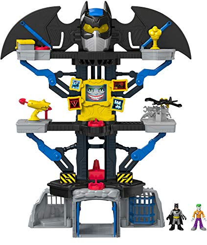 Fisher-Price Imaginext DC Super Friends Transforming Batcave (Fisher Price Imaginext Batman Gotham City Jail)