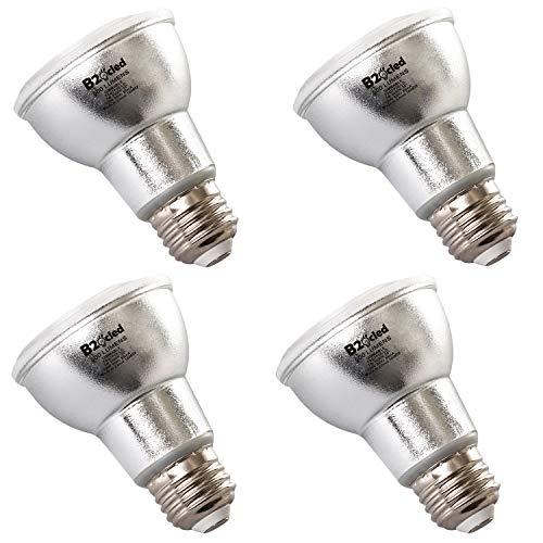 B2ocled LED Flood Light Bulb 7W(50 Watt Equivalent) Dimmable E26/E27 Par20 Floodlight Led Indoor/Outdoor 4 Packs 3000k Warm White,500 Lumenes