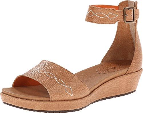 Ariat Women's Lisa Ankle Strap Sandal,Sand Full Grain Leather,US 6.5 B ()