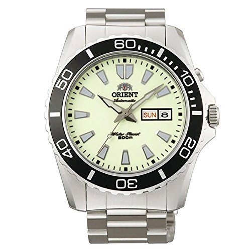 Orient Automatic Dive Watch CEM75005R (Luminous Dial Mako II) (Automatic Watch Mako Dive)