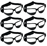 Unique Sports 6 Pack Dribble Specs Basketball Training Aid, Black, One Size...