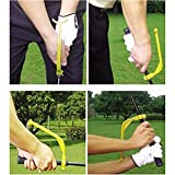 EDTara Golf Swing Trainer Golf Swing Correct Wrist Trainer Guide Gesture Golf Training Aid Tool