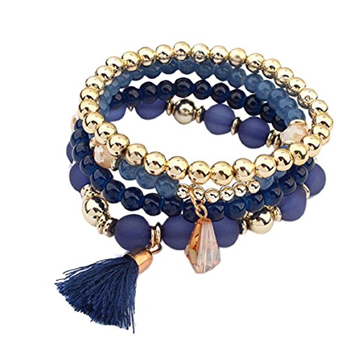 Susenstone®Women Multilayer Beads ,Bangle Bracelets - Fashion Bracelets Under $5