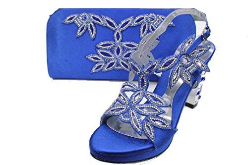 Pour Sandales Femme amp; Bleu Wear Marine UK Walk zICS4