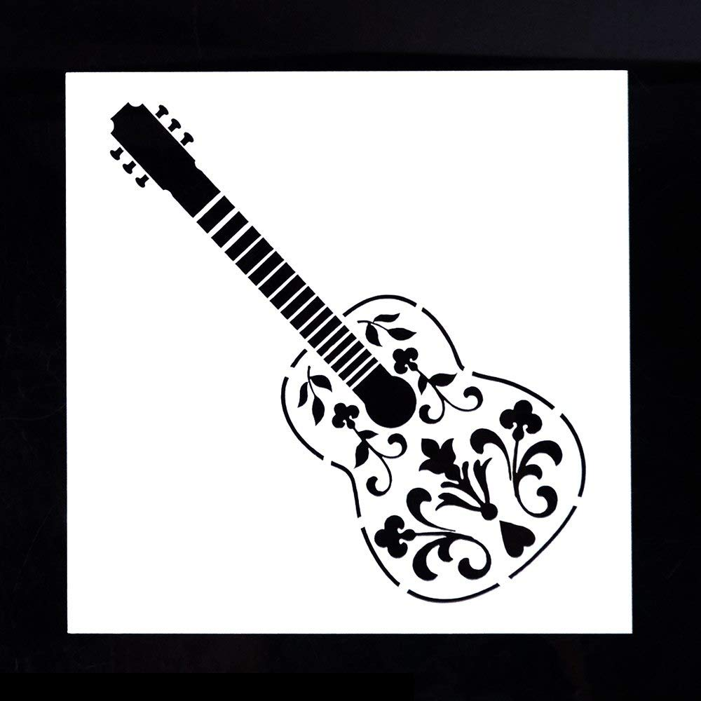DIY Decorative Stencil Template for Scrapbooking Painting,5.1 inch5.1 inch Tree
