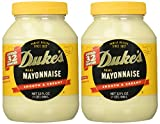 Duke s Mayonnaise, 32-ounce Jar - Pack of 2
