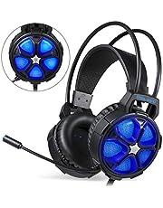 Gaming Kopfhörer, EasySMX COOL 2000 gaming Headset für MAC/PC / PS4/Xbox One/Nintendo Switch