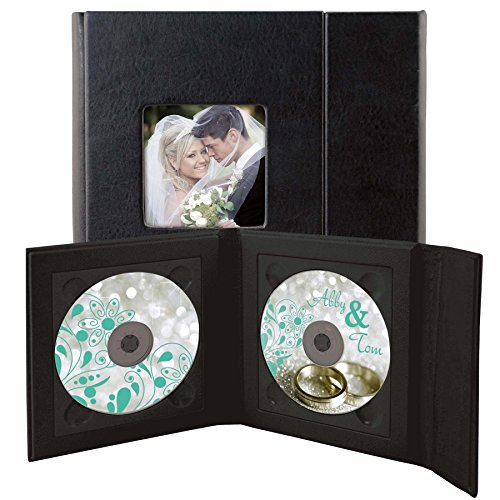 Supreme Double CD/DVD Holder - Holds 2 discs (Double Disc Dvd Case)