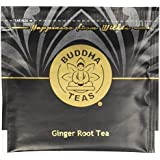 Organic Ginger Root Tea - Kosher, Caffeine-Free, GMO-Free - 18 Bleach-Free Tea Bags