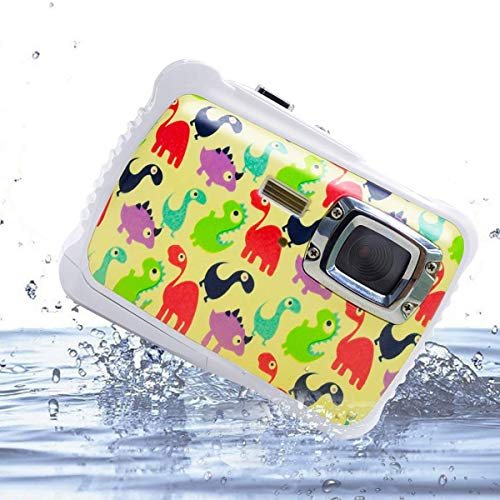 Vmotal Digital Camera for Kids, Waterproof Camera for Kids with 2.0 inch TFT Display, 8X Digital Zoom 8MP Children Boys Girls Gift Toys (DI)