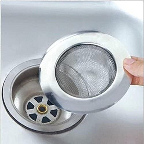 Filtro de acero inoxidable para fregadero, lavabo o ducha: Amazon ...