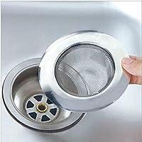 Filtro de acero inoxidable para fregadero, lavabo o