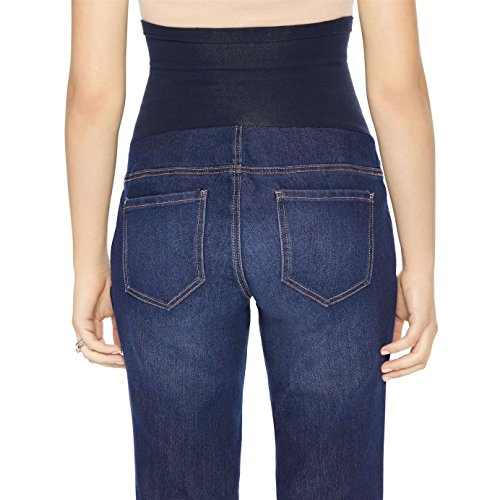 LizLang Maternity High Rise Bootcut Jeans for Women Pregnancy Stretch Pants with Full Panel Cute & Sexy by LizLang (Image #2)